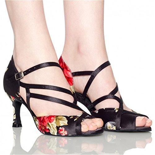 Monie 5cm 7 Black Ballroom Donna nwYPqvwR
