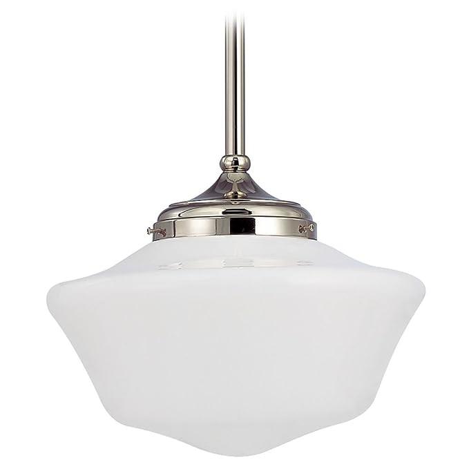 Amazon.com: 14-Inch Schoolhouse lámpara de techo colgante ...