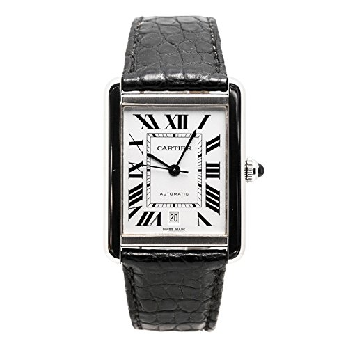 Cartier Tank XL automatic-self-wind mens Watch 3515 (Certified Pre-owned)