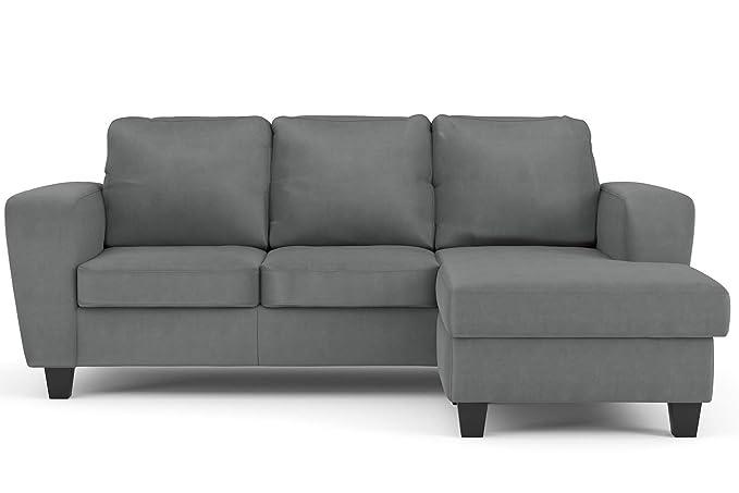 Confort24 Dany Sofa Chaise Longue 3 plazas Esquinero ...