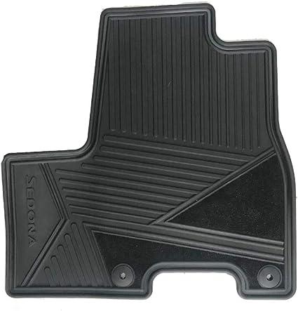 Coverking Custom Fit Front Floor Mats for Select Kia Sedona Models Black CFMAX1KI7027 Nylon Carpet
