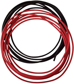 amazon com trac outdoor t10136 8 gauge trolling motor connector rig rite manufacturing wire 8 guage 20 blk red