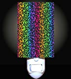 Rainbow Leopard Decorative Night Light