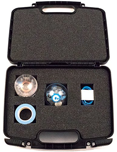 Life Made Better Storage Organizer - Compatible with Sphero SPRK + STEAM Educational Robot- Durable Carrying Case - Black (Pick It 2 Starter Kit)