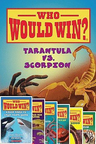 Who Would Win 11 Book Set Includes Rhino VS Hippo, Lion VS Tiger, Wolverine V Tasmanian Devil, Whale V Giant Squid, Tarantula V Scorpion, Komodo Dragon V King Cobra, Hammerhead V Bull Shark, Tyrannosaurus Rex V Velociraptor, Polar Bear V Grizzly Bear