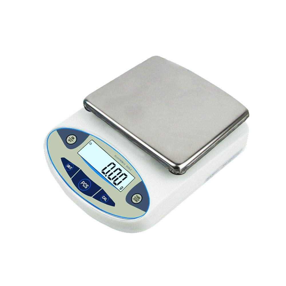 5000g, 0.01g Lab Scale Digital Analytical Electronic Balance Laboratory Lab Precision Scale Jewelry Scales Kitchen Precision Weighing Electronic Scales110V by RESHY