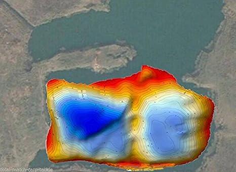3D Reef Master Pro Schnittstelle Sonar toslon tf650/Farbe Fisch-Finder 12/Monate Lizenz 10,9/cm- elektronischer Kompass Kompass GPS