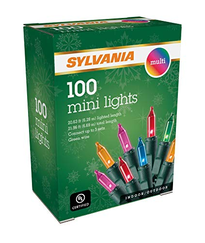 SYLVANIA Mini Christmas Lights, Multi
