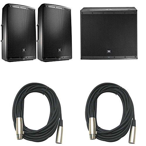 Price comparison product image JBL EON615 Pair & EON618S Powered Speaker Bundle