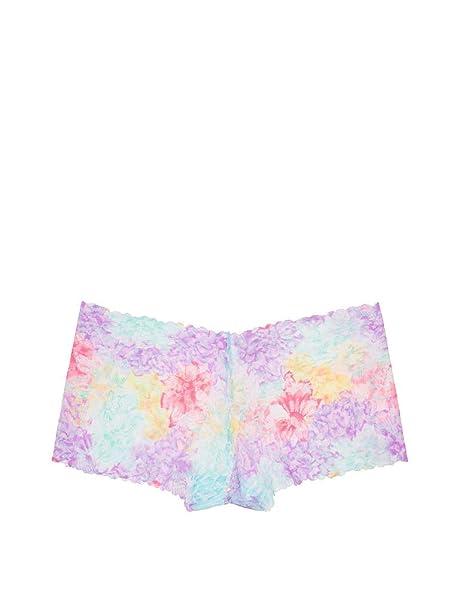 bd41af7db7d7e Victoria's Secret PINK Wildflower Lace Boyshort Panty Tropical ...