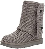 UGG Women's Classic Cardy Winter Boot, Grey, 5 US/5 B US