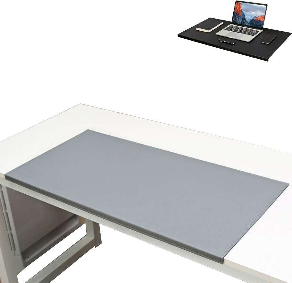 Thick Large Computer Keyboard Mousepad Mat Non-Slip The Curved Lip Wraps with Anti-Slip PU Leather Internal Hard PVC Velvet Bottom,C,900x580mm Extended Gaming Mouse Pad