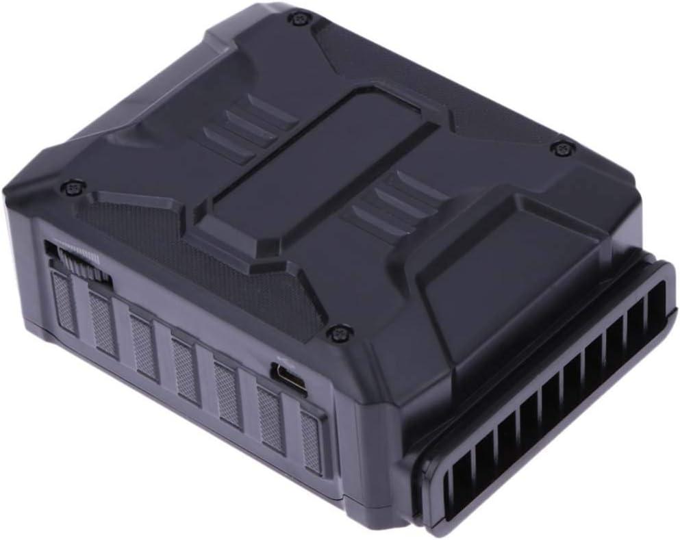 Gybai ノートパソコンラジエーター排気ファン真空USBエアクーラー抽出エキストラクター CPU冷却ノートパソコンプロセッサー