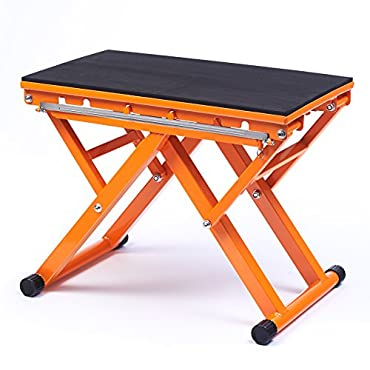 Black Mountain Products Adjustable Plyo Jump Training Plyometric Box, Orange