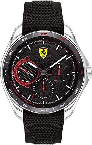 Scuderia Ferrari Speedracer Analog Black Dial Men #39;s Watch 0830683