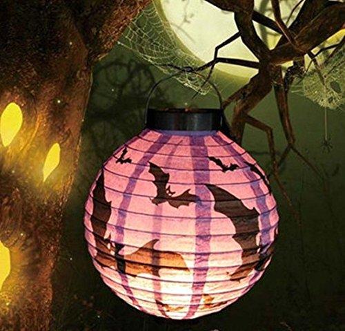 1 Pcs Wonderful Popular Halloween LED Nightlight Colorful Party Decor Holiday Scary Style Bat Color (Houston Halloween Block Party)