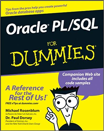 Oracle pl sql for dummies 1 michael rosenblum paul dorsey ebook oracle pl sql for dummies 1 michael rosenblum paul dorsey ebook amazon fandeluxe Image collections