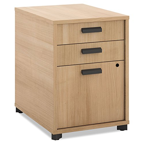 Hon Mobile File Pedestal (HON Manage Pedestal File , 2 Pencil Drawers / 1 File Drawer , 15-3/4