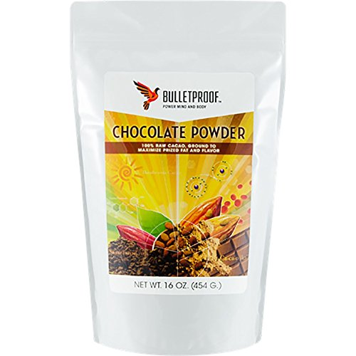 Fudge Unsweetened Chocolate (Bulletproof Chocolate Powder, Organic and Raw Cacao Powder Ground to Flavor Perfection (16 Ounces))