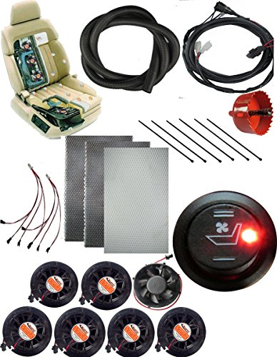 Water Carbon 12v High Low Round Car Seat Ventilation Cooler System And A Built In Auto Manufacturers Like Genuine Leather Heater