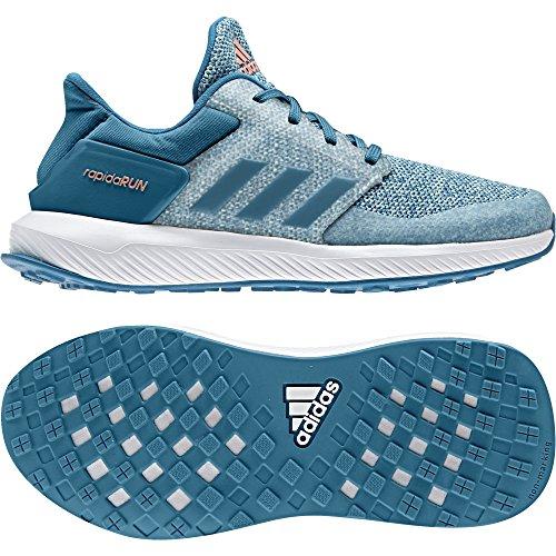 adidas RapidaRun K Laufschuhe Kinder - blau - Größe 28,5