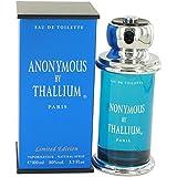 Thallium Anonymous Cologne By Yves De Sistelle 3.3 oz Eau De Toilette Spray For Men - 100% AUTHENTIC