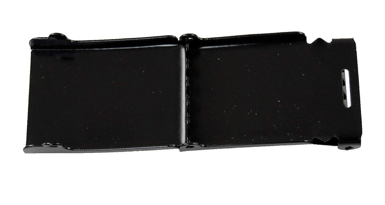 Beige Military Canvas Plain Black Flip Top Web Belt /& Buckle 60 #MNAS