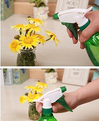 2pcs Spray Bottle 500ml Petit Arrosoir Domestique Flacon Pulv/érisateur Vide en Plastique pour Plantes et Fleurs ou Salles de Nettoyage Translucide Doitsa Violet Rose Bureau