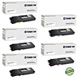Toner Tap for Dell S3840cdn S3845cdn Compatible Toner Replacement Extra High Yield (5 Pack)