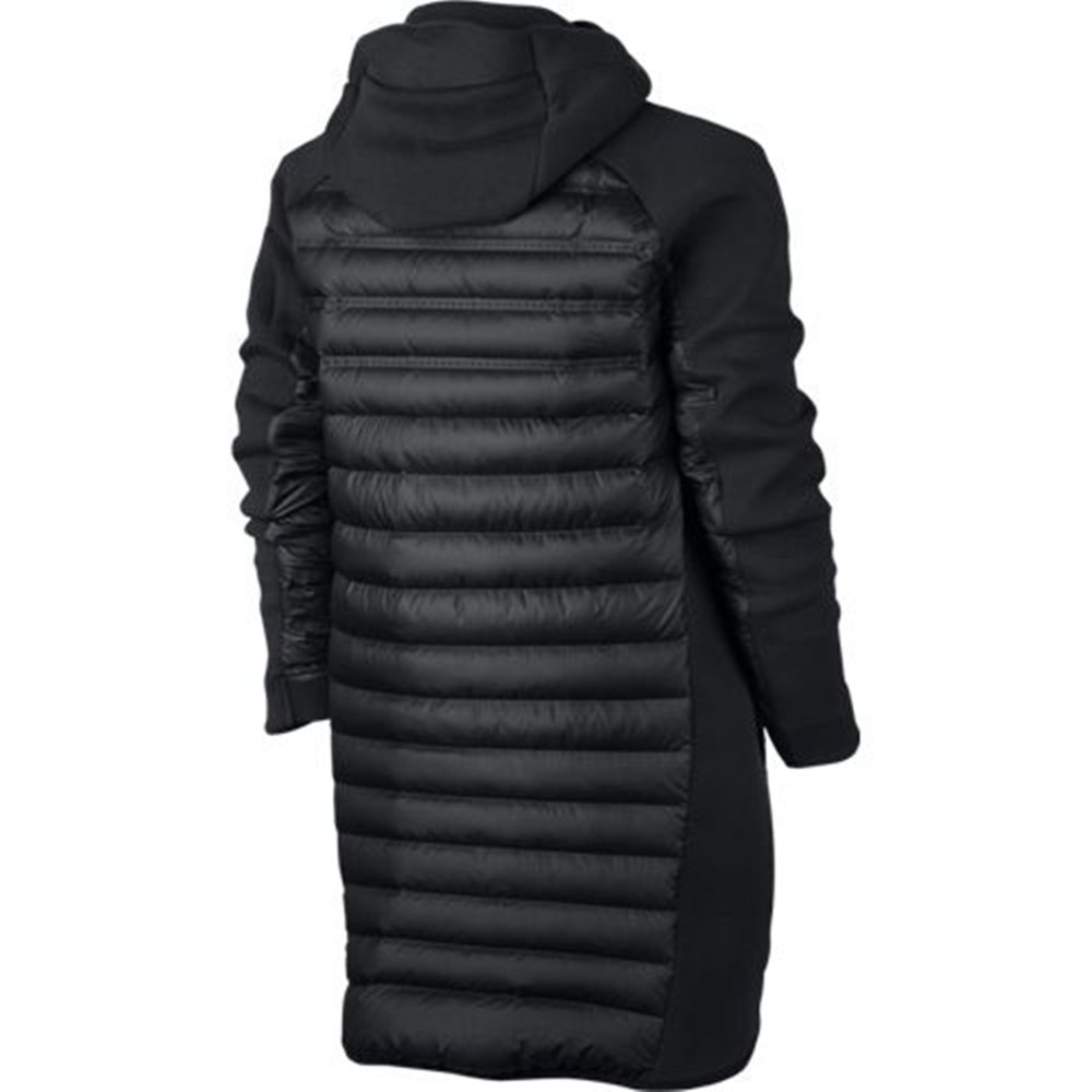 f7a0c50aa Nike NSW Tech Fleece Aeroloft Down Parka Jacket Black New 822243-010 ...