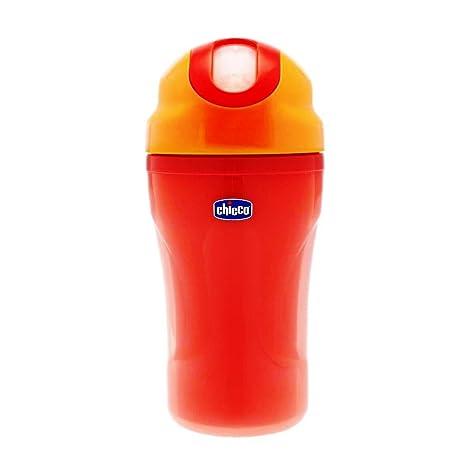 Chicco - Vaso de paseo con pajita de silicona y sistema antigotéo, 2660 ml,