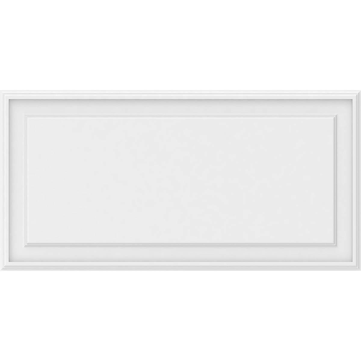 Ekena Millwork WALP40X20X062LEG Wall Panel, 40''W x 20''H x 5/8''P, White by Ekena Millwork