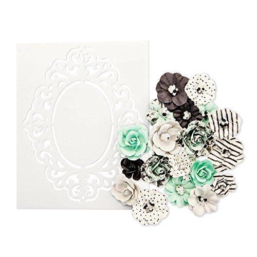 Prima Marketing Floral Embellishments - Prima Marketing Inc. 634551 Flirty Fleur Flowers, Multicolored