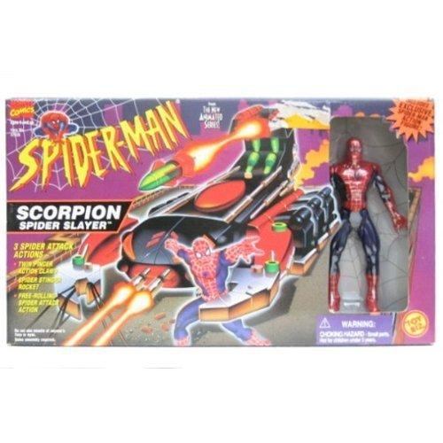 Toy Biz Spider - 1996 Spider-Man Scorpion Spider Slayer by Toy Biz