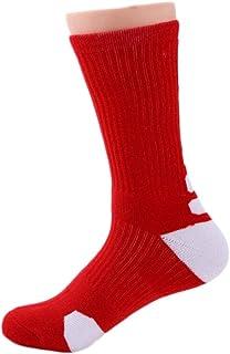 ZJEXJJ Chaussettes de Sport à Bas de Serviette à Haut Tube, Chaussettes antidérapantes et Absorbant Les Chocs, Chaussettes en Tissu éponge (Couleur : 11, Taille : One Size)