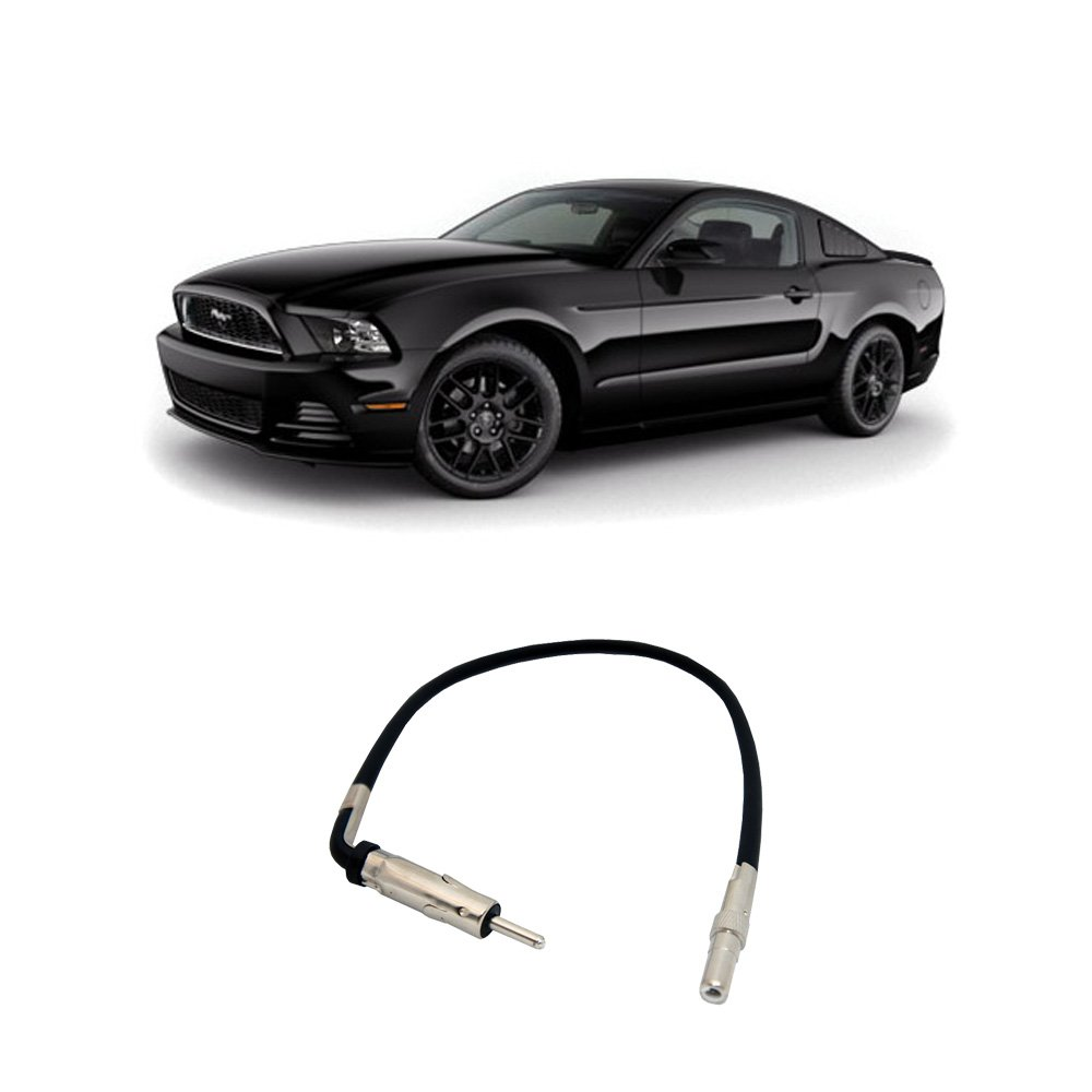 Amazon.com: Fits Ford Mustang 2007-2014 Factory Stereo to Aftermarket Radio  Antenna Adapter Plug: Car Electronics