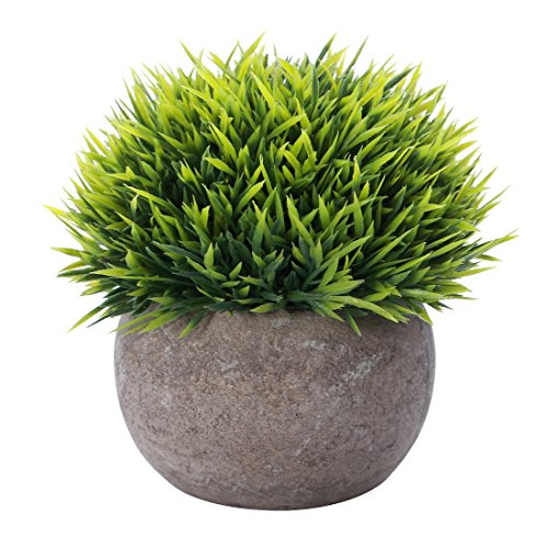 HC STAR Artificial Plant Potted Mini Fake Plant Decorative Lifelike Flower Green Plants - 1201