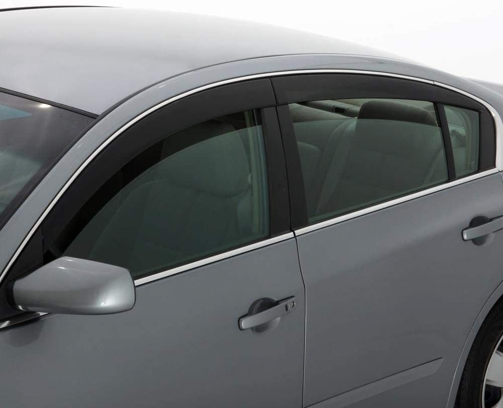 4 Piece Auto Ventshade 894035 Smoke Seamless Ventvisor