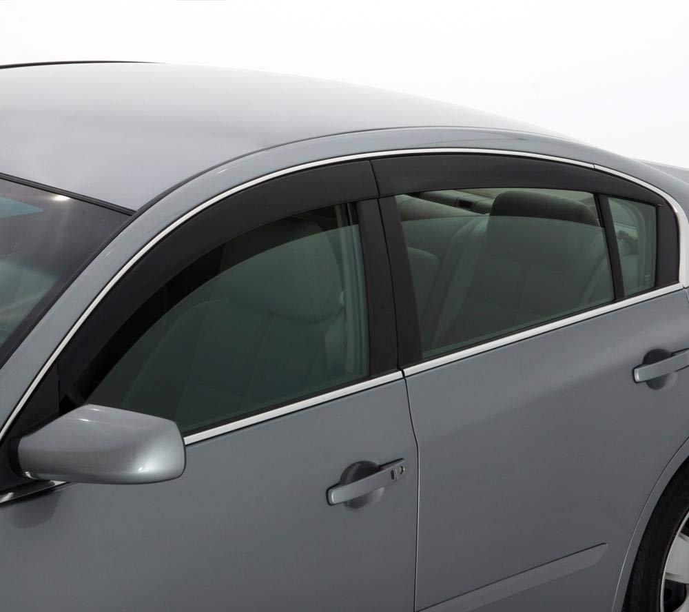Auto Ventshade 894037 Finish Low-Profile Vent Visor 4 Piece