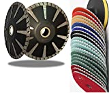 5 Inch Concave Curved Blade Diamond Polishing 12+1 Pad abrasive disc For Granite & Convex Diamond Tool Turbo concrete travertine sinkwork circle shape cutting