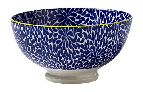 Torre & Tagus 910548U Kiri Porcelain 4.5-Inch Small Bowl, Blue Iris by Torre & Tagus
