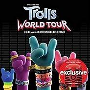 TROLLS World Tour SOUNDTRACK LIMITED EDITION EXPANDED TARGET CD THREE BONUS TRACKS & COLORING PO