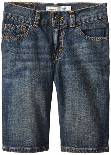 Levis Regular Denim Fit 505 (Levi's Boys' 505 Regular Fit Jean Shorts,Roadie, 14)