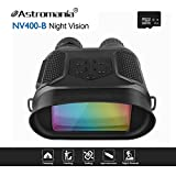 Astromania Night Vision Binocular / Digital Infrared Night Vision Scope - 7x31 Hunting IR Telescope with 2'' TFT LCD In-view,1300ft/400M viewing Range,640x480p HD Photo Camera Video Recorder Display