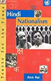 Hindi Nationalism, Rai and Alok Rai, 8125019790