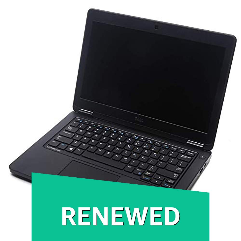 (Renewed) Dell Latitude E5250-i5-8 GB SSD-512 GB SSD 12-inch