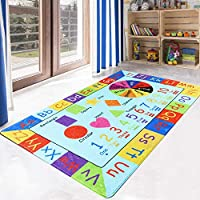 LIVEBOX Play Mat, Faux Wool Kids Play Area Rugs 3