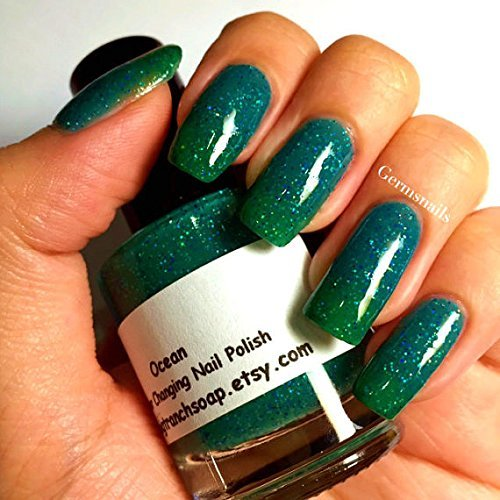 Color Changing Nail Polish - FREE SHIPPING - Temperature Changing - Custom Blended Polish/Lacquer -