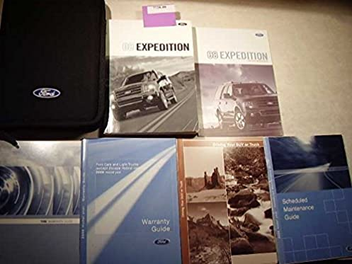 2008 ford expedition owners manual ford motor company amazon com rh amazon com 2008 ford expedition xlt owners manual 2007 Expedition