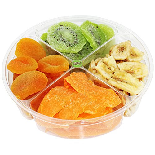 Premium Gourmet Dried Fruits Gift Basket Healthy Assortment Fresh and Natural. (Hawaiian Food Gift Baskets)